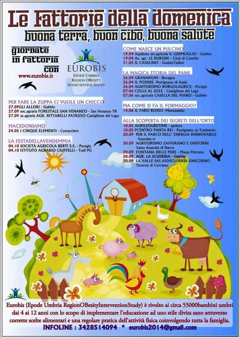 Domenica 26 Aprile: le Fattorie della Domenica con Eurobis