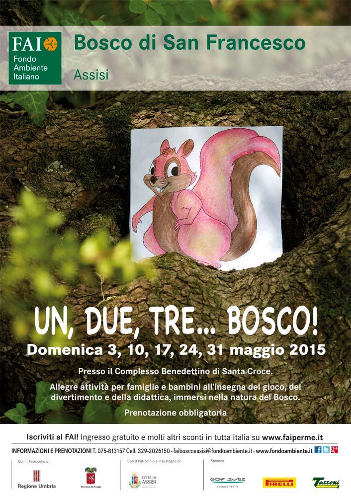 Domenica 3 Maggio: al Bosco di San Francesco con il FAI